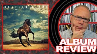 ALBUM REVIEW Bruce Springsteen Western Stars with BONUS UNBOXING