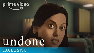 Undone Combines Live Action and Animation  Prime Video