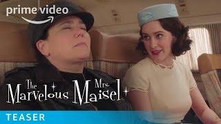 The Marvelous Mrs Maisel Season 3  Official Teaser  Prime Video