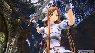 Asuna Gameplay Demo  Sword Art Online Alicization Lycoris  Gamerturk SAO