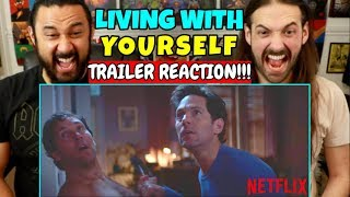 LIVING WITH YOURSELF  Netflix  Paul Rudds  TRAILER REACTION