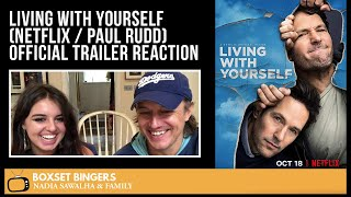 Living WIth Yourself  Netflix Series  PAUL RUDD Official Trailer  The Boxset Bingers REACTION