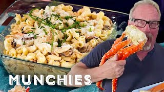 Crab Mac  Cheese with Deadliest Catchs Thom Beers How To