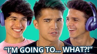 LIGHT AS A FEATHER WHISPER CHALLENGE w Brent Rivera Alex Wassabi and the Stokes Twins