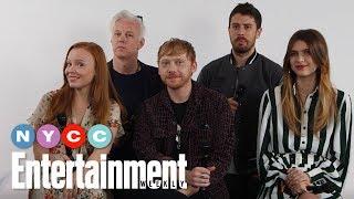 Servants Rupert Grint Lauren Ambrose  More On New Apple TV Show  NYCC19  Entertainment Weekly