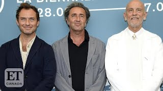 Jude Law And John Malkovich Talk The New Pope