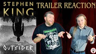 The Outsider 2019 HBO TV Series Drama Trailer Reaction  The Horror Show
