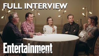 Once Upon A Time In Hollywood Roundtable Brad Pitt Leonardo DiCaprio More  Entertainment Weekly
