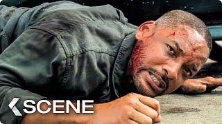 Young vs Old Will Smith Bike Fight Scene  GEMINI MAN 2019