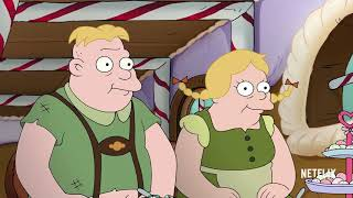 Matt Groenings Disenchantment  Luci Elfo  Bean  official trailer 2018