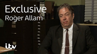 Endeavour Roger Allam  Behind the Scenes  ITV