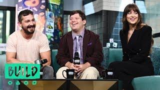 Shia LaBeouf Dakota Johnson  Zack Gottsagen Speak On The Film The Peanut Butter Falcon