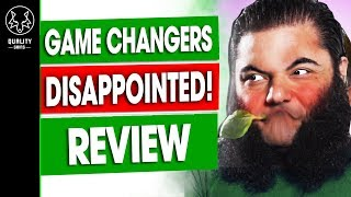 The Game Changers Review DISAPPOINTED  Vegan Documentary Athletes
