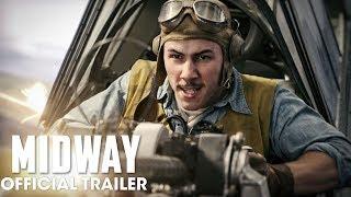Midway 2019 Movie New Trailer  Ed Skrein Mandy Moore Nick Jonas Woody Harrelson