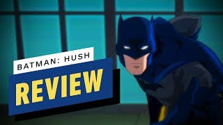 Batman Hush Movie Review  Comic Con 2019