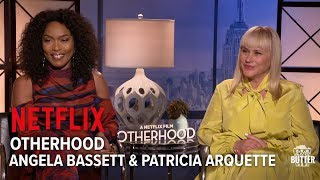 Otherhood Interview  Angela Bassett  Patricia Arquette star in Netflix Film  Extra Butter