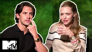 Amanda Seyfried  Milo Ventimiglia On Kissing Scenes  The Art of Racing in the Rain  MTV Movies