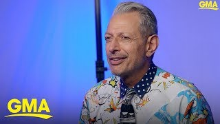 Jeff Goldblum discusses his Disney show The World According to Jeff Goldblum l GMA Digital