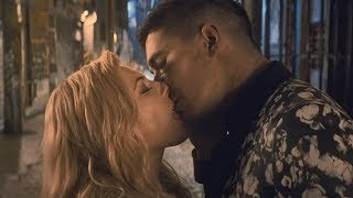 Wu Assassins  Kiss Scene Katheryn Winnick and Lewis Tan