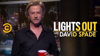 David Spade Deals with Hecklers During His First Show  Lights Out with David Spade