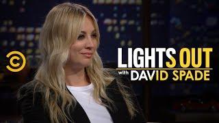 Kaley Cuoco Blocks David Spade on Instagram  Lights Out with David Spade
