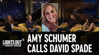 Amy Schumer Calls David Spade on His Celebrity Hotline  Lights Out with David Spade