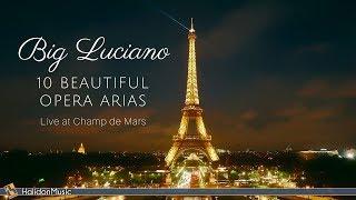 Luciano Pavarotti  10 Beautiful Opera Arias  Live Performance in Paris