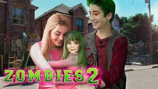 Disney ZOMBIES 2 Zed and Addison have a Daughter And she is HalfZOMBIE  Edit