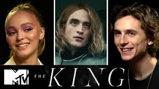 Timothe Chalamet  The Kings Cast On Robert Pattinsons French Accent  MTV Movies