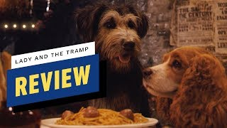 Lady and the Tramp Review Tessa Thompson  Justin Theroux