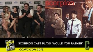 Watch the Cast of Scorpion Play Would You Rather and Tease Season 3