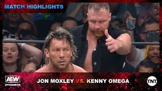 Jon Moxley puts the hurt on Kenny Omega Backstage at AEW Dynamite
