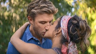 Falling Inn Love  Kiss Scene Christina Milian and Adam Demos
