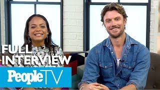 Christina Milian And Adam Demos On Their Impeccable Chemistry In Falling Inn Love  PeopleTV