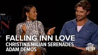Falling Inn Love Christina Milian serenades Adam Demos  Extra Butter