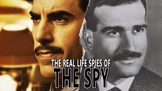 The Real Life Spies from Netflixs THE SPY