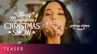 The Kacey Musgraves Christmas Show Teaser  Prime Video