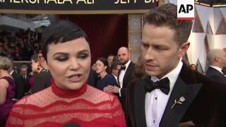 Ginnifer Goodwin remembers Big Love costar Bill Paxton on Oscars red carpet