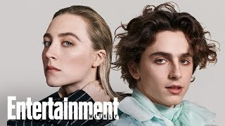 Little Womens Timothe Chalamet  Saoirse Ronan On New Film  Cover Shoot  Entertainment Weekly
