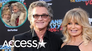 Goldie Hawn Returning As Mrs Claus With Real Life Santa Kurt Russell In Christmas Chronicles 2