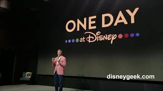 D23 Expo 2019 Disney  One Day at Disney Announcement