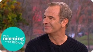 Robson Green Had to Leave the Grantchester Set for Laughing Too Much  This Morning