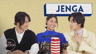 Yang Sejong Woo Dohwan and Seolhyun play Jenga ENG SUB