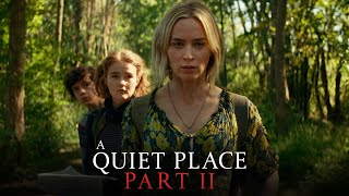 A Quiet Place Part II  Trailer Coming New Years Day