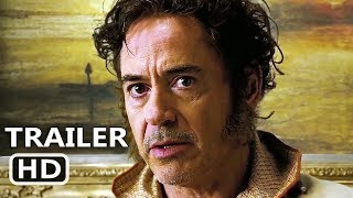 DOLITTLE Trailer 2020 Robert Downey Jr Tom Holland Movie