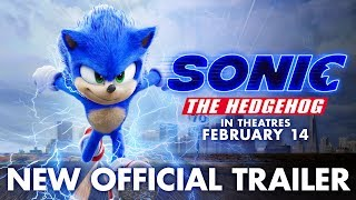 Sonic The Hedgehog 2020  New Official Trailer  Paramount Pictures
