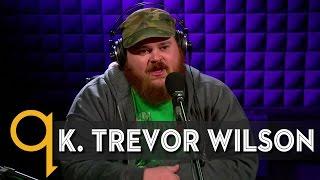 Letterkennys K Trevor Wilson in studio q