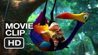 Up 3D Movie CLIP  Kevin 2009  Ed Asner Movie HD