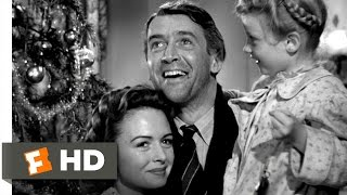 Every Time a Bell Rings an Angel Gets His Wings  Its a Wonderful Life 99 Movie CLIP 1946 HD