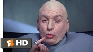 One Million Dollars  Austin Powers International Man of Mystery 25 Movie CLIP 1997 HD